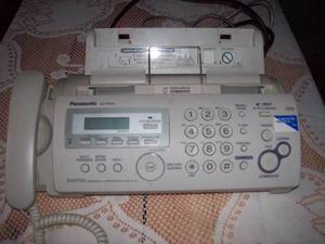 Fax Panasonic Modelo Kx-fp218 Para Papel Común Casi Sin Uso