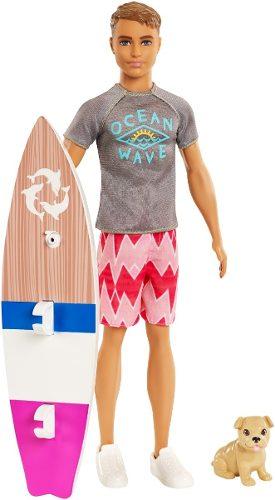 Ken Y Los Delfines Mágicos Con Accesorios Original Mattel