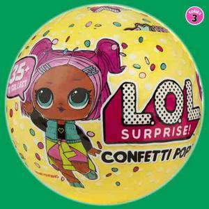 Lol Surprise! Confetti Pop Serie 3 - Muñeca 9 Capas