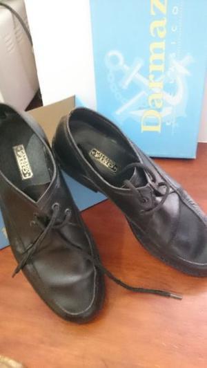 Zapatos de cuero de hombre nro40 color negro | Posot Class