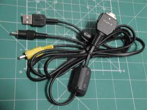 Cable Sony Vmc-md1 Usb Audio/video P/ Camara Sony Compatible