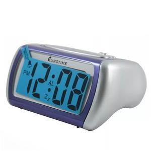 Reloj Despertador Eurotime Snooze Digital Con Luz