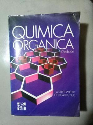 VENDO LIBRO DE QUIMICA ORGANICA
