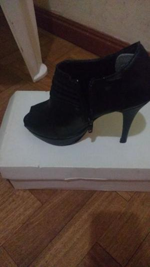 Zapatos de vestir negros talle