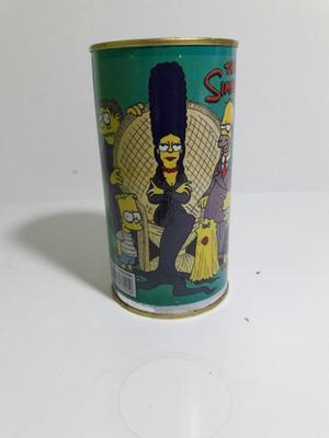 Lata Alcancia Los Simpsons Adams