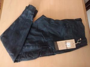 Pantalon cargo camuflado con puño talle 44
