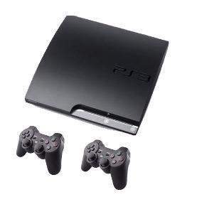 Play Station 3 Usada + Cable Hdmi + 2 Controles