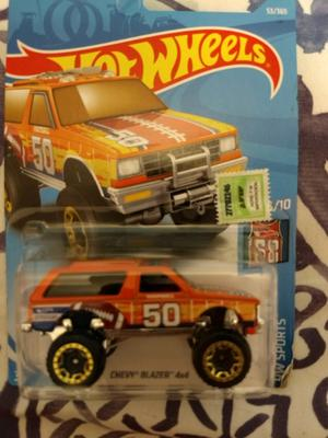 Camioneta Chevrolet Chevy 4x4 - hotwheels original