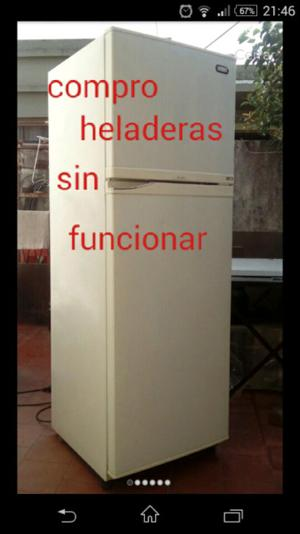 Compro heladeras sin funcionar zona sur Quilmes bernal