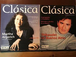Dos revistas Clásica