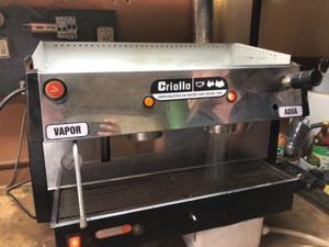 Máquina de Café Marca Criollo 2 Grupos Profesional Más