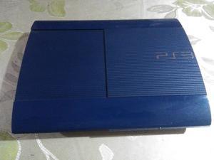 Playstation 3 Ed. Limitada Color Azul Azurita de 250 GB + 11