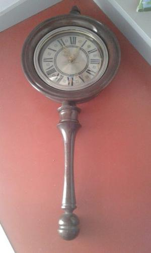 Reloj de pared en madera y vidrio con lamina posot class - Reloj pared madera ...