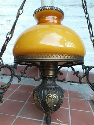 Vendo araña lampara colgante antigua excelente estado