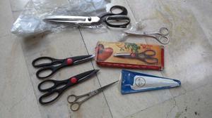 Vendo tijeras varias nuevas y usadas excelentes.