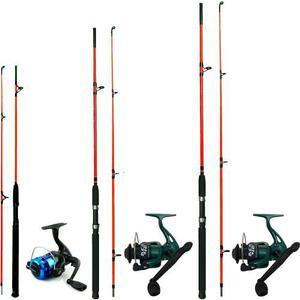 3 Combos De Pesca Con Cañas  Y 2.40