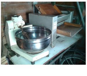 Amasadora y sobadora industrial de mesa