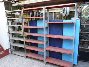 Mensulas cm metalicas para estanterias paq x posot class for Estanterias metalicas 3 metros