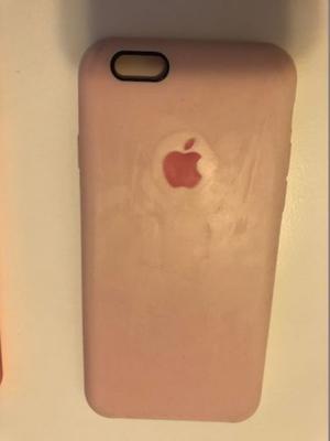 Funda Original de apple, color Rosa. Para iphone 6 y 6S