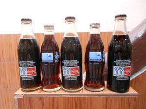 Lote Botellas Coca Cola Mundial 78 Y Juvenil