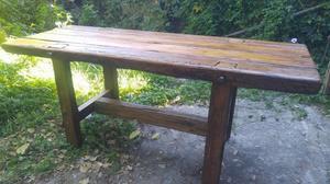 Barra bar estilo campo urgente madera maciza posot class for Bar de madera estilo campo