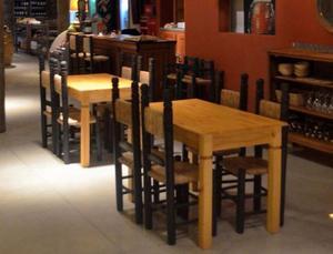 Mesas y sillas para restaurante/bar 35 cub.