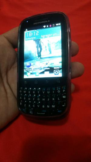 Motorola Spice Key XT316 para Personal ok acepta Wasap