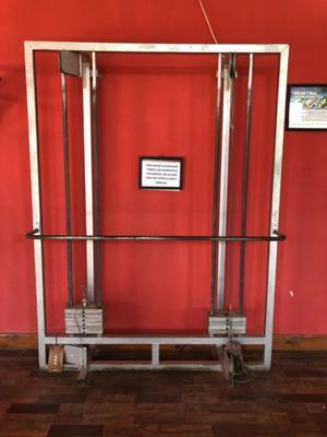 Máquina de doble polea