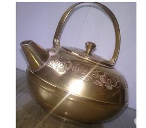 Tetera De Bronce De India