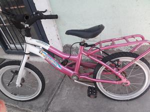 Vendo bicicleta barbie