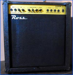 ★ Amplificador de Bajo - ROSS 50B, de 50Watts, funciona