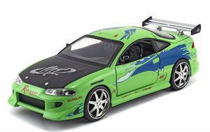 Auto Rapido Y Furioso Mitsubishi Eclipse Escala 1:24 Jada