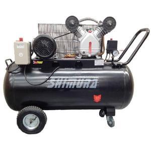 Compresor De Aire 100 Litros a correa Shimura + Pala