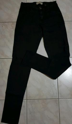 Jean negro elastizado