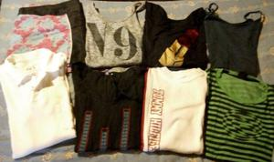 Lote de ropa ideal feria la mayoría de marca