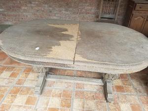 Mesa antigua a restaurar