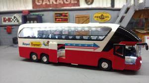 Micro Bus Metalico Con Luz Y Sonido. Únicos!!