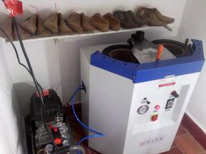 Máquina de Pegar Calzado Lavarropa 2 bocas + compresor!!!!