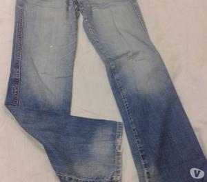 Pantalon Jean Trf Zara T Eur 38 Azul Cintura41 perfecto