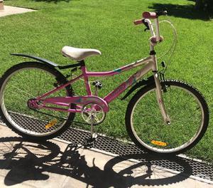 Vendo bicicleta Musetta niña, rodado 24