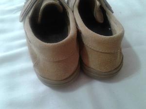 Zapatos Nauticos Gamuza Marron Claro 37