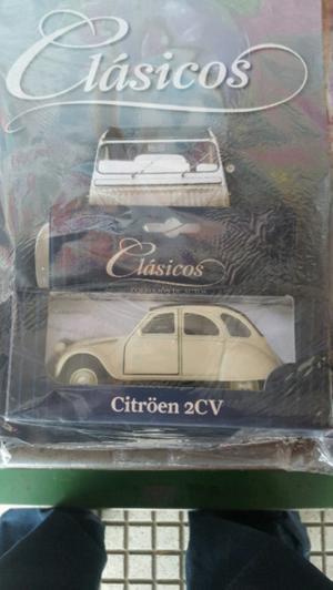 citroen 2 cv de la coleccion autos clasicos de clarin