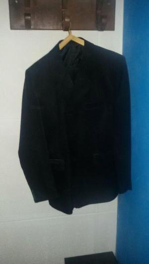 traje ambo negro
