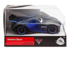 Auto Cars 3 Disney Store Jackson Storm Nuevo Y Original