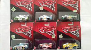 Autos Cars 3 Disney Autitos De Metal Originales Mattel 1.55