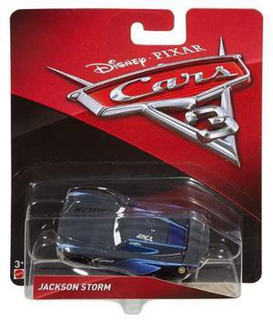 Cars 3 Disney Jackson Storm Metal 8 Cm Mattel Tikitavi