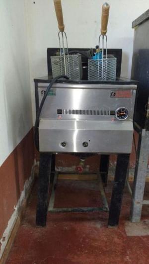 Freidora industrial NUEVA gas natural