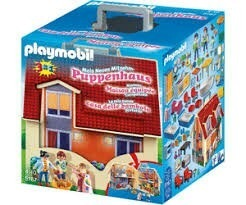 Playmobil  Casa De Muñecas De 2 Pisos Valija