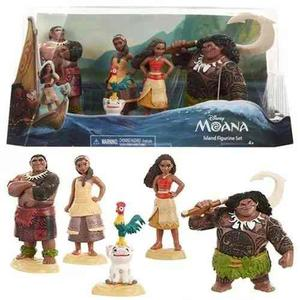 Set De 5 Figuras De Moana Disney - Sharif Express