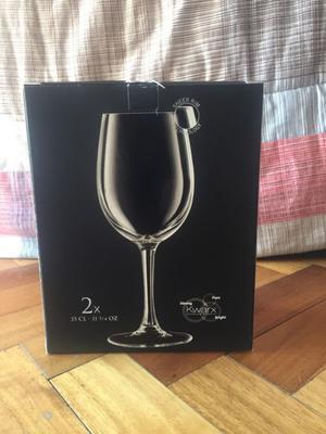 2 Set de 2 copas de vino de 35 cl Marca Chef & Sommelier